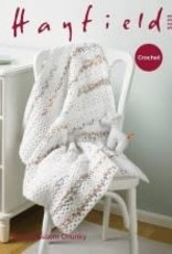 Hayfield Hayfield 5235 Baby Blossom Crochet Blanket