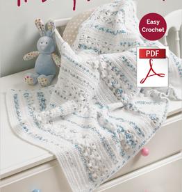 Hayfield Hayfield 5231 Baby Blossom Crochet Blanket