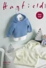 Hayfield Hayfield 5223 Baby DK Hooded Sweater
