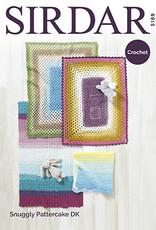Sirdar 5189 Sirdar Pattercake Blankets in 4 CROCHET designs
