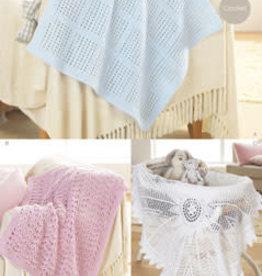 Sirdar Sirdar 1299 Lacy Baby Blankets