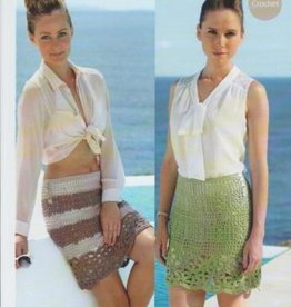 Sirdar Sirdar 7077 Crochet Skirt