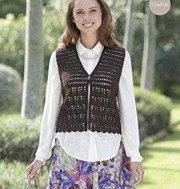 Sirdar Sirdar 7045 Lacy Crochet Vest