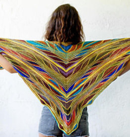 Butterfly Papillon Shawl by Marin URTH