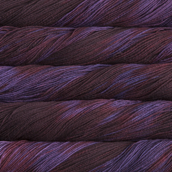 Malabrigo Yarn Malabrigo Sock 204 VELVET GRAPES
