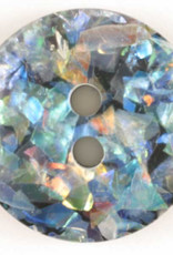 Dill Buttons 260550 Multi Sparkle Button 19 mm