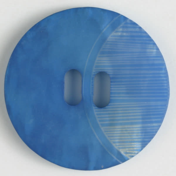 Dill Buttons 330667 Blue Etch Button 20 mm
