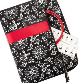 "ChiaoGoo ChiaoGoo Red Lace Twist Complete 5"" Interchangeable Set"
