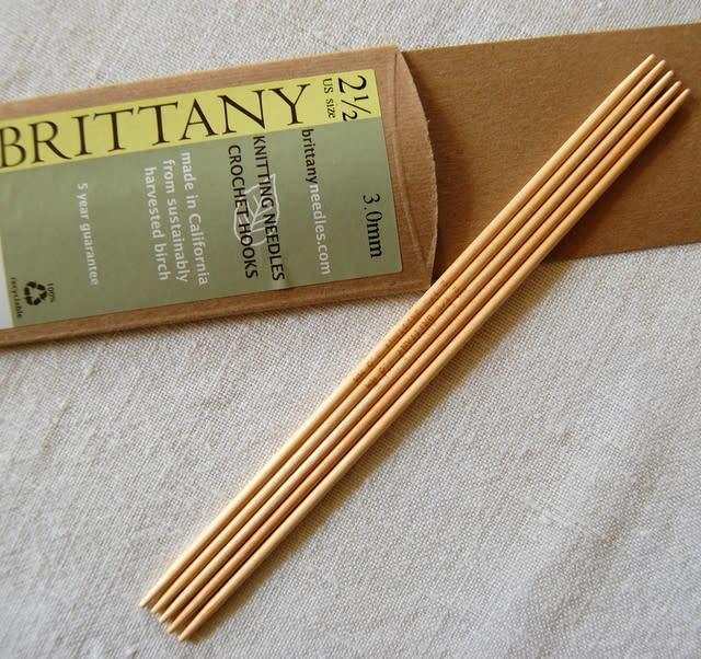 "Brittany Brittany Birch 7.5"" DPN US 3 (3.25mm)"