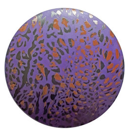 Dill Buttons 313824 Purple Crackle Button 20 mm
