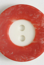 Dill Buttons 251295 Coral Border Button 18 mm