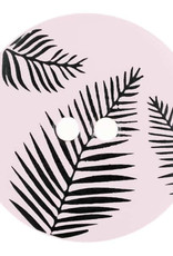 Dill Buttons 314810 Pink Frond Button 18mm
