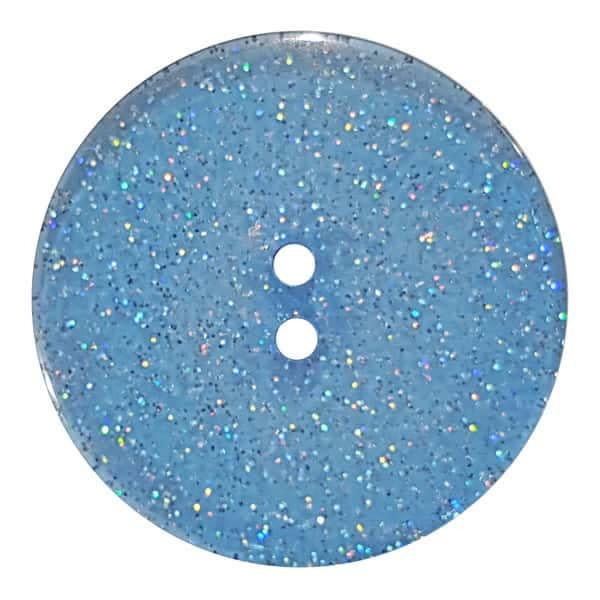 Dill Buttons 344880 Ocean Glitter Button 18mm