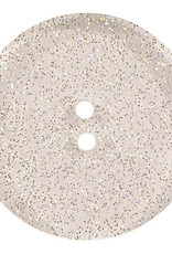 Dill Buttons 341327 Clear Glitter Button 18mm