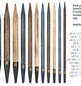 "LYKKECRAFTS Lykke Driftwood Interchangeable 5"" Tip 6.5 mm US 10.5"