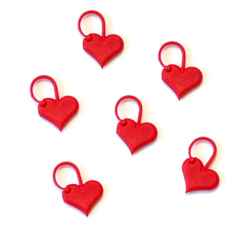 addi addi Love Stitch Markers 6 pack