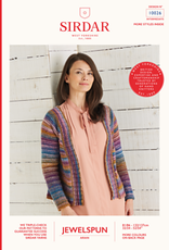 Sirdar Sirdar Jewelspun Easy Cardigan 10026