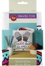 "Crochet Fast Tote Bag 13"""