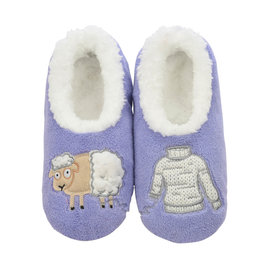 Snoozies Snoozie Slippers Women's Sheep with Sweater