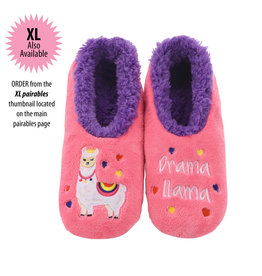 Snoozies Snoozie Slippers Women's Drama Llama