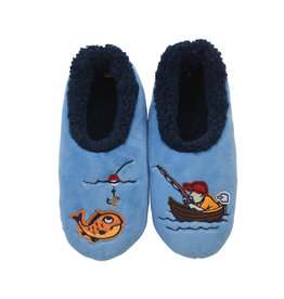 Snoozies Snoozie Slippers Mens Fisherman