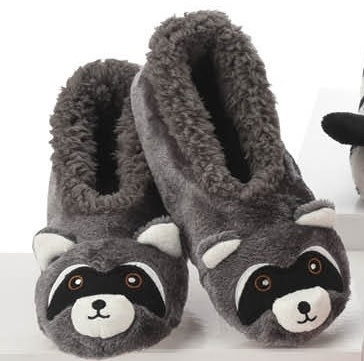 Snoozies Kids Furry Critter Snoozie Slippers