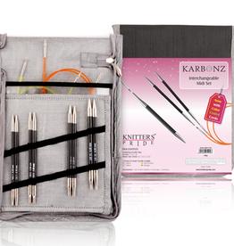 knitters pride Knitters Pride 1102 Karbonz Midi Interchangeable Set US 7-10