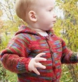 Bryson Baby Neckdown Cardigan Worsted KPS-982