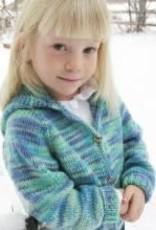 Bryson Childrens Neckdown Cardigan Worsted KPS-981
