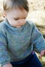 Bryson Top Down Baby Pullover Worsted KPS-214