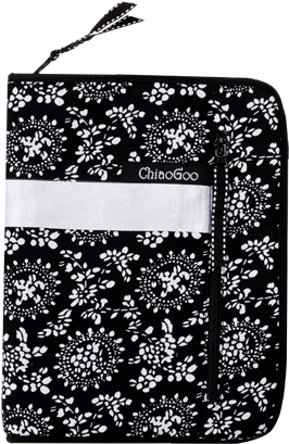 ChiaoGoo ChiaoGoo Interchangeable Needle Case Black Print