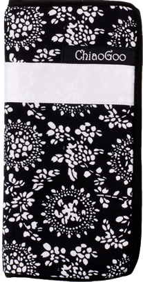 "ChiaoGoo ChiaoGoo 6"" DPN or Crochet Case Black Print"