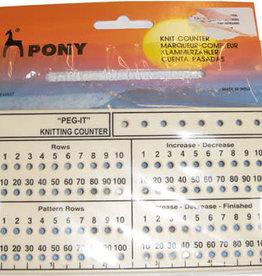 PONY Peg It Knit Counter MY627