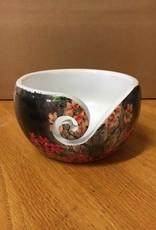 Bryson Bryson Wood Print Yarn Bowl