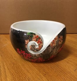 Bryson Bryson Wood Print Yarn Bowl