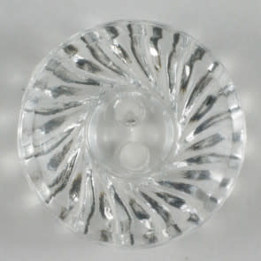 Dill Buttons 170054 Clear Swirl Button 14 mm