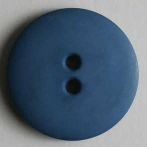 Dill Buttons 190982 Blue Matte Button 18 mm