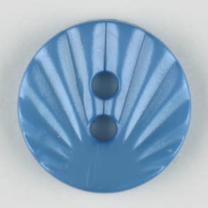 Dill Buttons 213705 Deco Blue 13mm