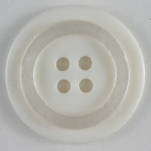 Dill Buttons 231392 White button 15mm