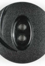 Dill Buttons 250899 Black Swoosh button 18mm