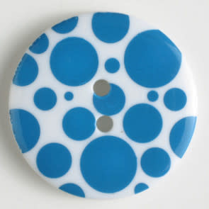 Dill Buttons Polka DOTS 20 MM 310654 TEAL