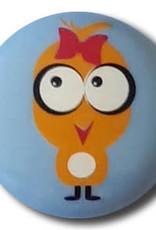 Dill Buttons 261309 Blue Chickadee Button 15 mm