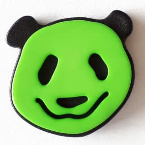 Dill Buttons 331112 Green Panda Button 22 mm