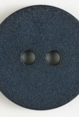 Dill Buttons Navy Leather Look 20mm 261194