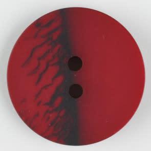 Dill Buttons 314709 Cranberry Inkspot 18 mm