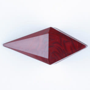 Dill Buttons 334707 RED PYRAMID 20MM