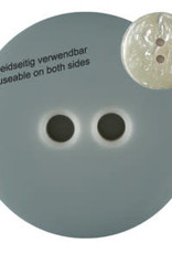 Dill Buttons 342800 Grey Reversible Button 23 mm