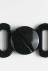 Dill Buttons Black Closure 10mm 330912