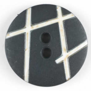 Dill Buttons Black link 15mm 231554