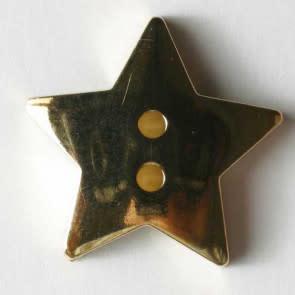 Dill Buttons Gold star 15mm 231154